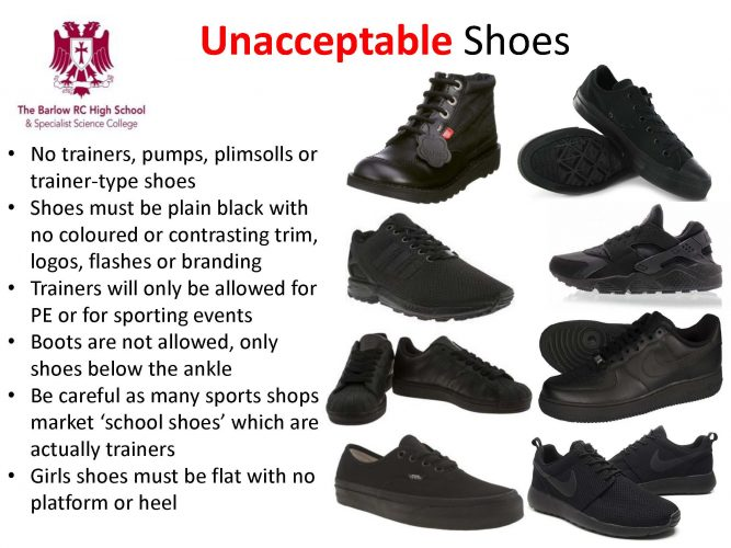 Acceptable and Unacceptable Shoes_Page_1